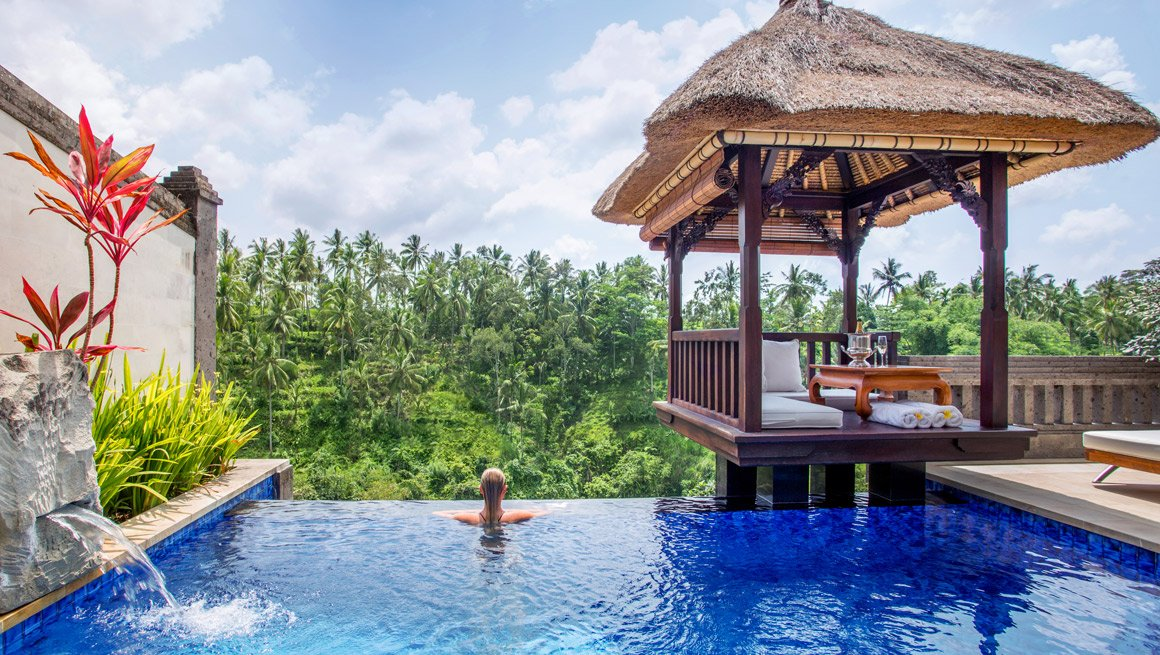 romantic place to stay in ubud for couples